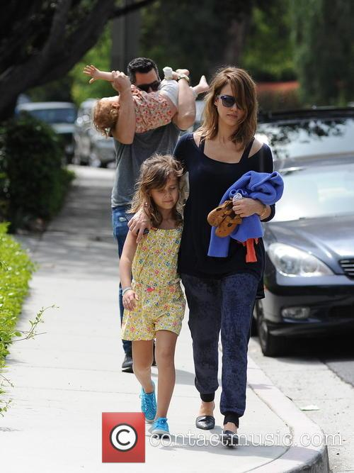 Jessica Alba, Cash Warren, Honor-Marie Warren and Haven Warren 41