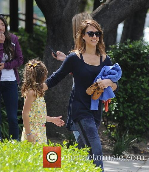 Jessica Alba, Cash Warren, Honor-Marie Warren and Haven Warren 43