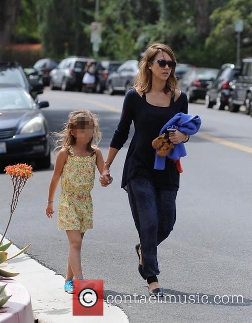 Jessica Alba, Cash Warren, Honor-Marie Warren and Haven Warren 47