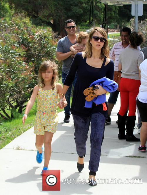 Jessica Alba, Cash Warren, Honor-Marie Warren and Haven Warren 49