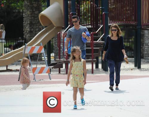 Jessica Alba, Cash Warren, Honor-Marie Warren and Haven Warren 61