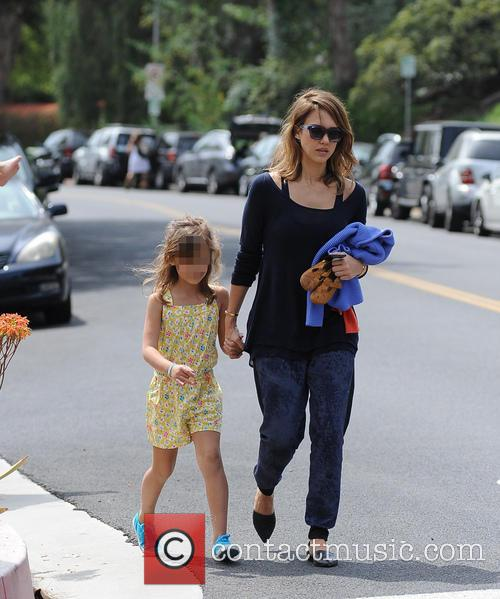 Jessica Alba, Cash Warren, Honor-Marie Warren and Haven Warren 66