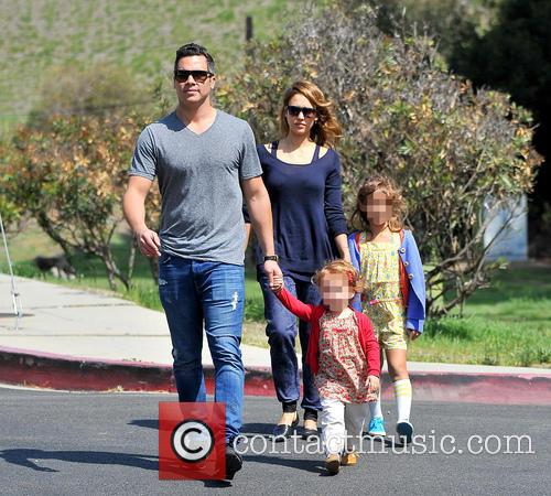 Jessica Alba, Haven Warren, Honor Warren and Cash Warren 9
