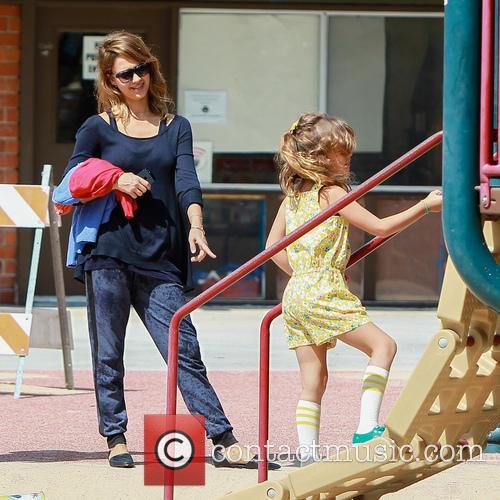 Jessica Alba And Kids Met Jaime King At...