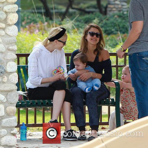 jessica alba jaime king jessica alba and kids 4131221
