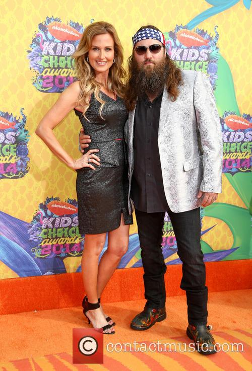 willie robertson korie robertson nickelodeon kids choice awards 4130871