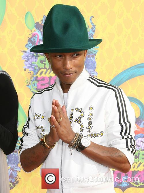 Pharrell Williams Nickelodeon Kids Choice