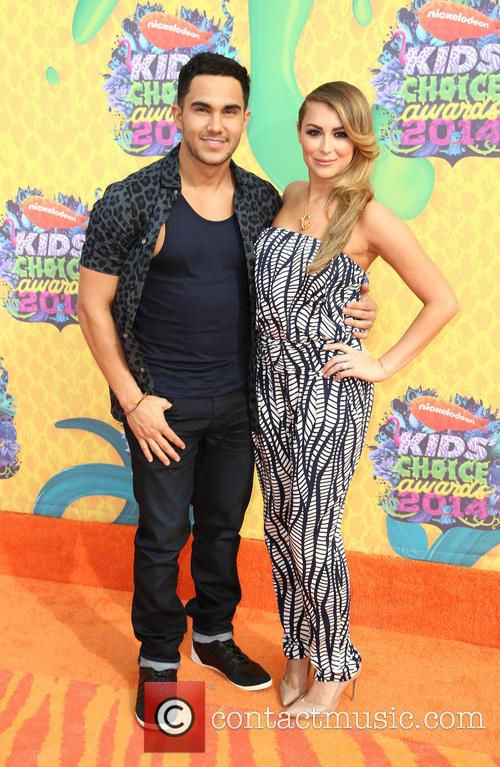 Carlos Pena Jr and Alexa Vega 1