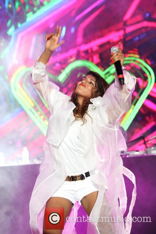 M.I.A. performs at Ultra Music Festival 2014
