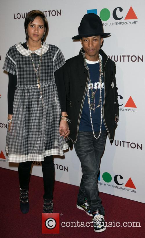 Helen Lasichanh and Pharrell Williams 4