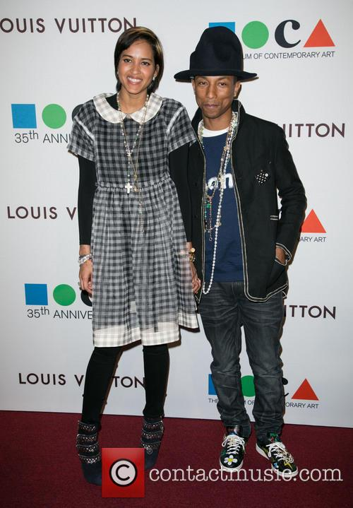 Helen Lasichanh and Pharrell Williams 5
