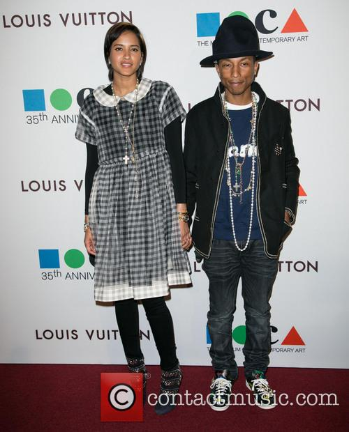 Helen Lasichanh and Pharrell Williams 6