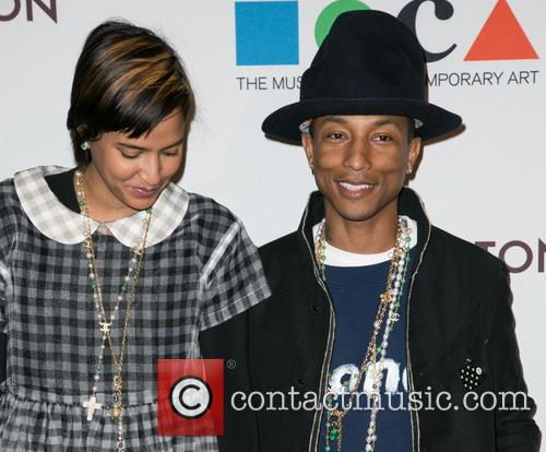 Helen Lasichanh and Pharrell Williams 8
