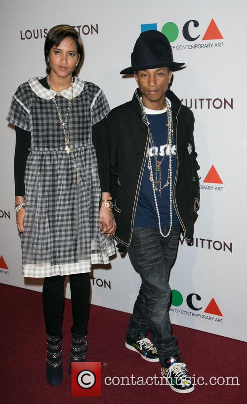 Helen Lasichanh and Pharrell Williams 9