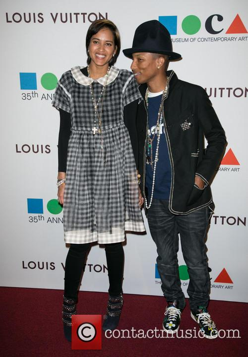 Helen Lasichanh and Pharrell Williams 11