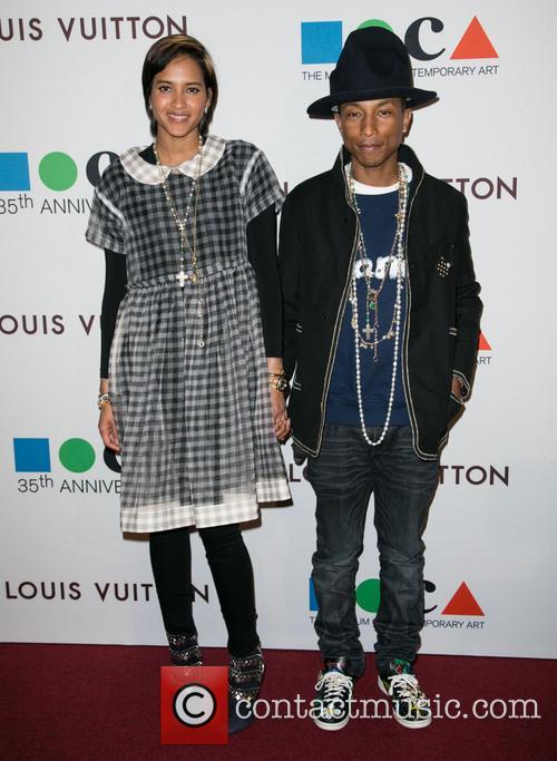 Helen Lasichanh and Pharrell Williams 9