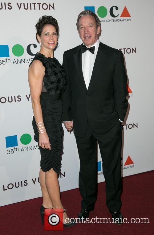 Jane Hajduk and Tim Allen 4