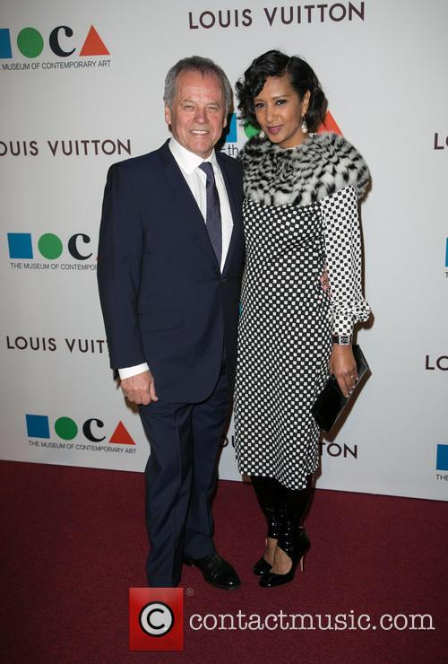 Wolfgang Puck, Gelila Assefa, The Geffen Contemporary at MOCA