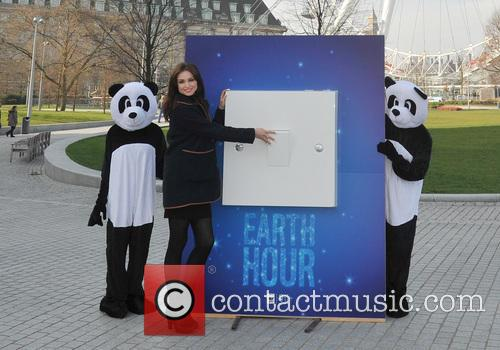 sophie ellis bextor earth hour 2014 photocall 4130050