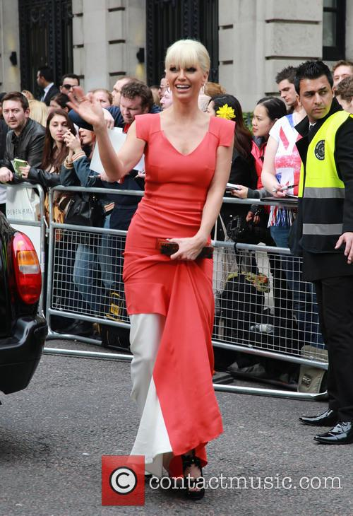 Sarah Harding, The Jameson Empire Awards, Grosvenor House