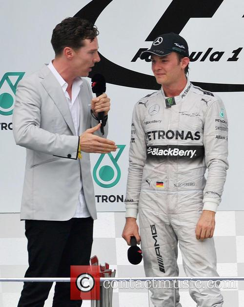Nico Rosberg and Benedict Cumberbatch 3