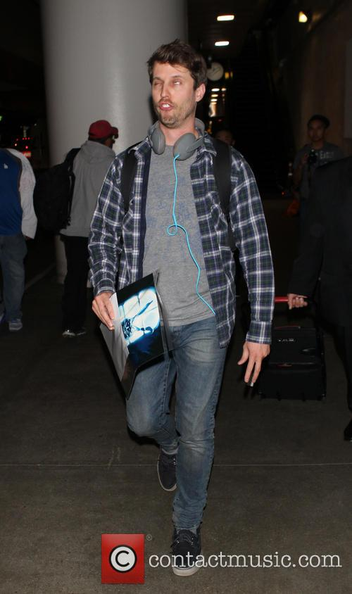 Jon Heder at LAX