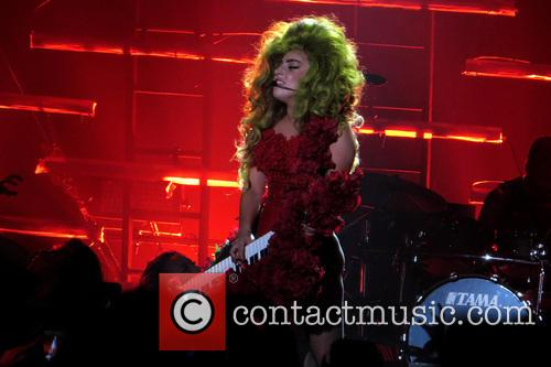 Lady Gaga performs to a sold-out crowd at Roseland Ballroom