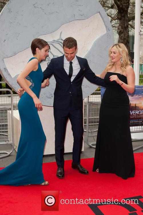 Kate Winslet, Shailene Woodley and Theo James 6