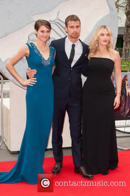 Kate Winslet, Shailene Woodley and Theo James 9