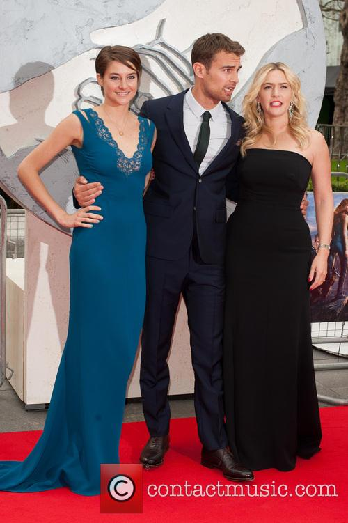 Kate Winslet, Shailene Woodley and Theo James 10