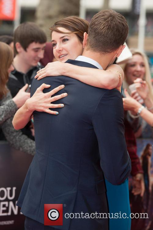 Theo James and Shailene Woodley 9