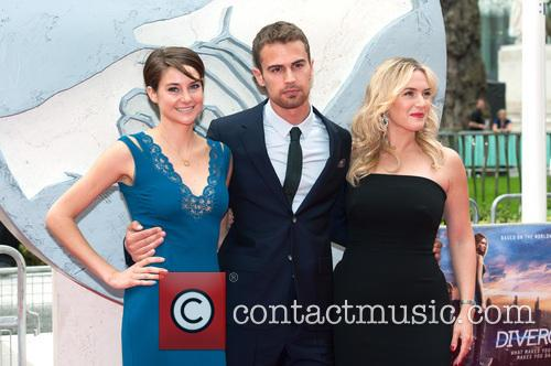 Theo James, Shailene Woodley and Kate Winslet 2