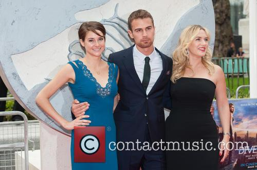 Theo James, Shailene Woodley and Kate Winslet 3