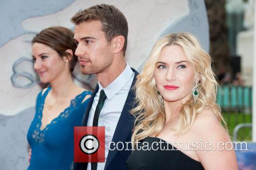 Theo James, Shailene Woodley and Kate Winslet 6