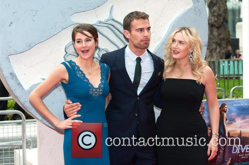 Theo James, Shailene Woodley and Kate Winslet 7