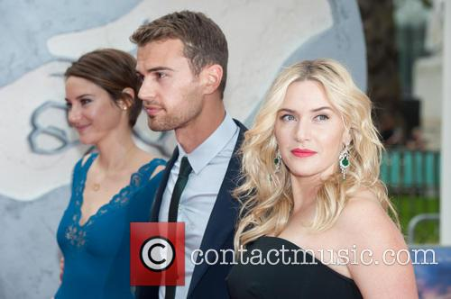 Theo James, Shailene Woodley and Kate Winslet 10