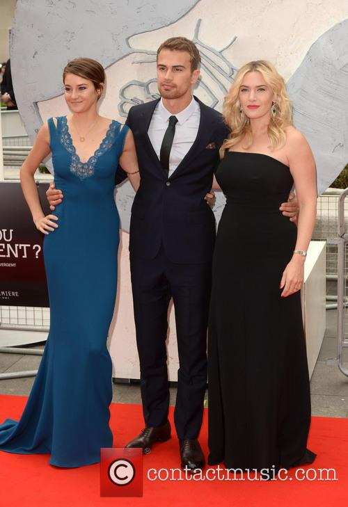 Shailene Woodley, THEO JAMES and Kate Winslet 1