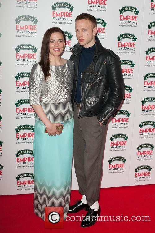 Hayley Atwell and Evan Jones 3