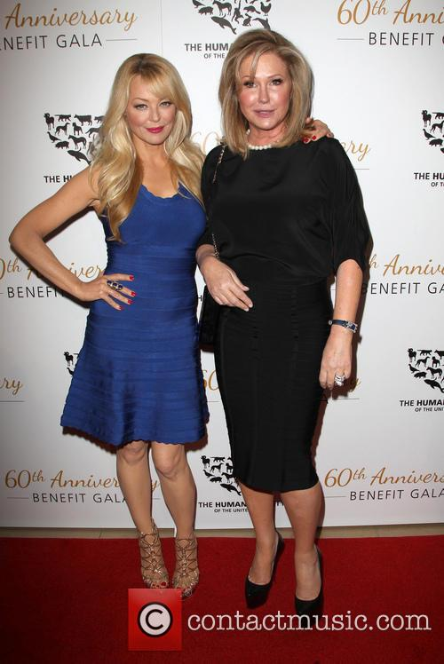 Charlotte Ross and Kathy Hilton 1