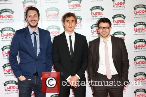 Joe Thomas, Blake Harrison, Simon Bird, The Jameson Empire Awards, Grosvenor House