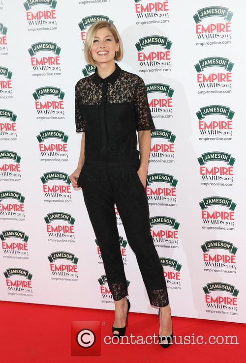 Rosamund Pike, The Jameson Empire Awards, Grosvenor House