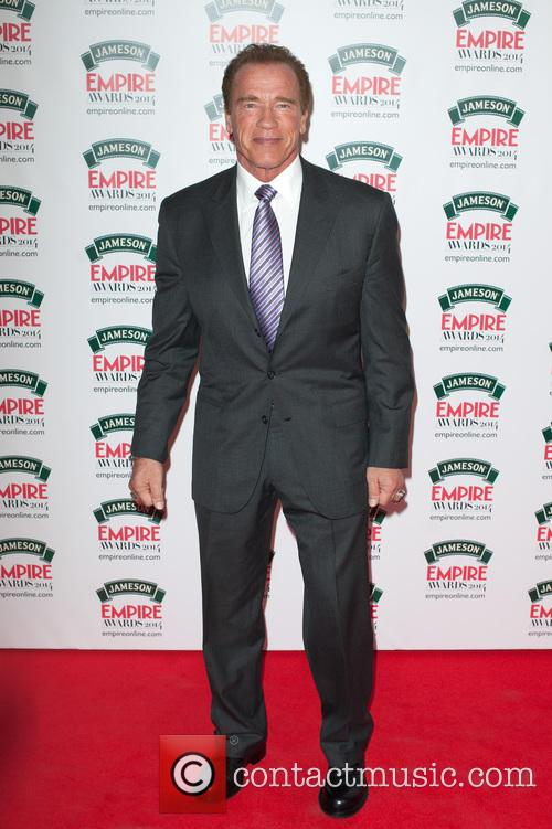Arnold Schwarzenegger, Jameson Empire Awards, Grosvenor House