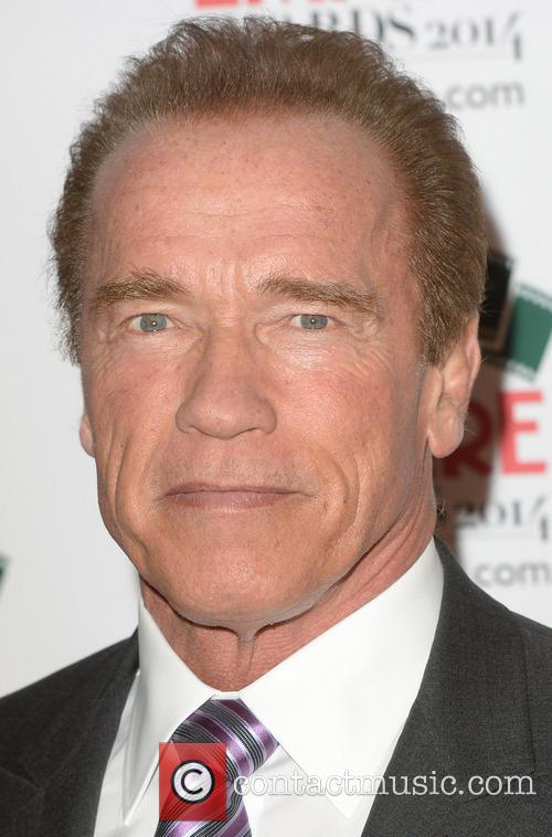 Arnold At The Awards