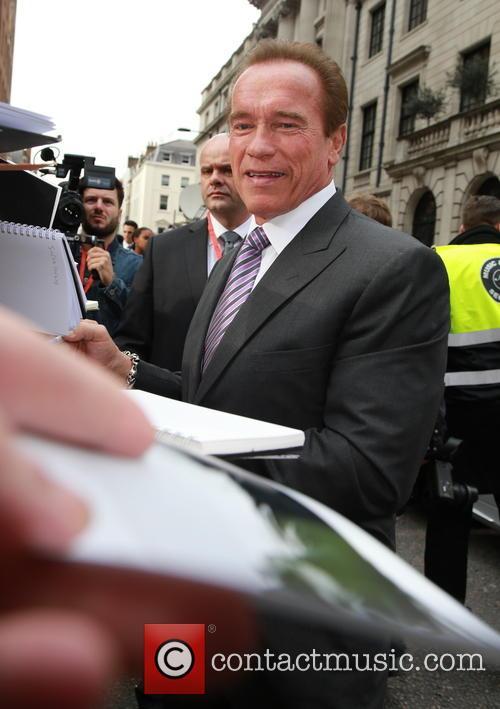 Arnold Schwarzenegger, The Jameson Empire Awards, Grosvenor House
