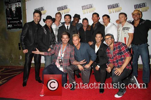 Las Vegas debut of 'Men of the Strip'