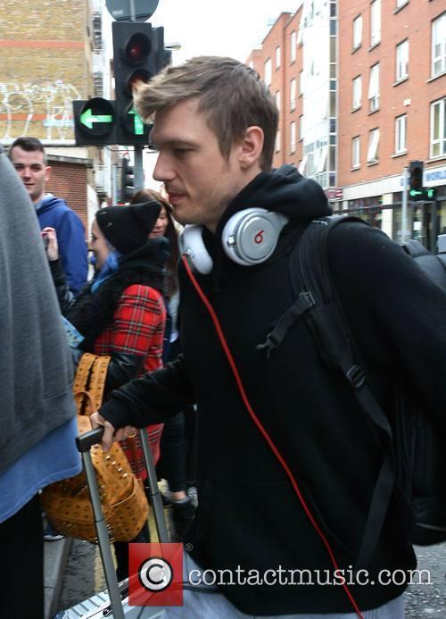 Backstreet Boys arrive at their Dublin hotel