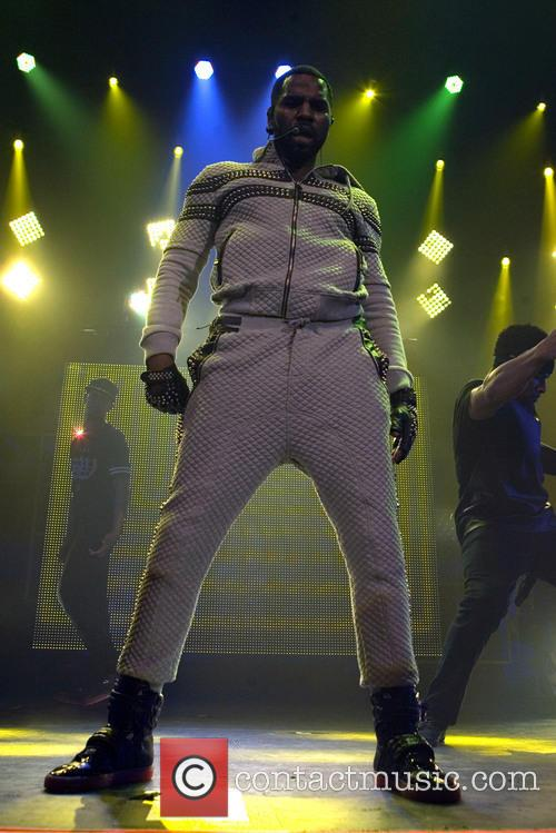 Jason Derulo performs in Scotland