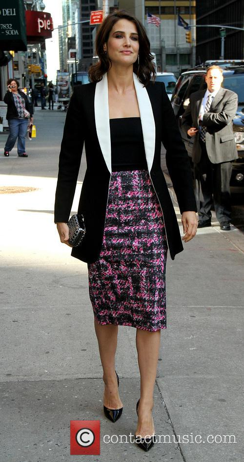 cobie smulders celebrities arrive to appear on 4134248