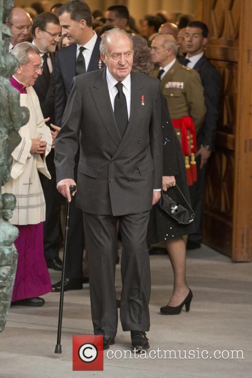 State funeral for former Spanish president Adolfo Suarez