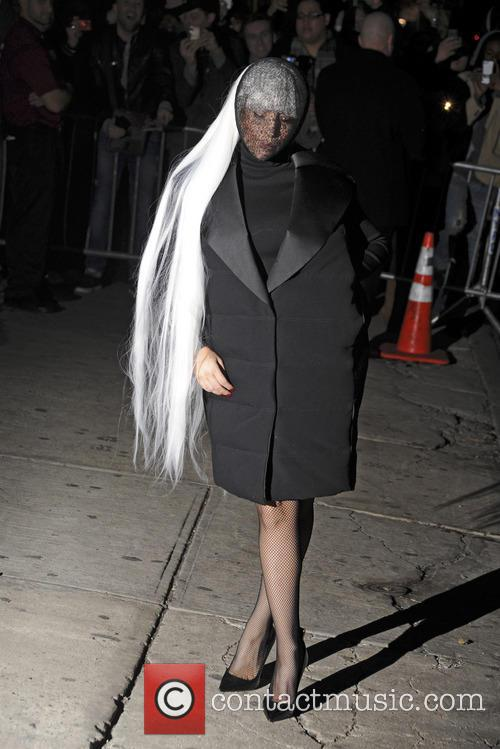lady gaga lady gaga arrives at roseland 4134384